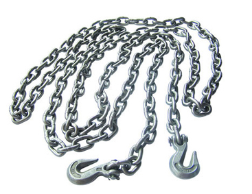 USA STANDARD CHAINS WITH CLEVIS(EYE) GRAB HOOK ON BOTH END